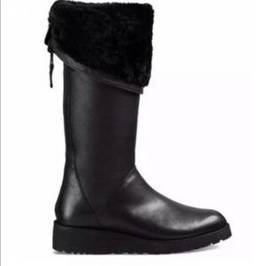UGG Shoes - UGG kendi sheepskin leather wedge boots